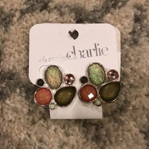 3/$15 Pink and Green Earrings